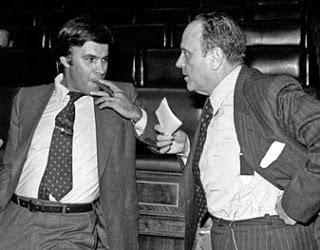 Felipe González & Manuel Fraga_1977
