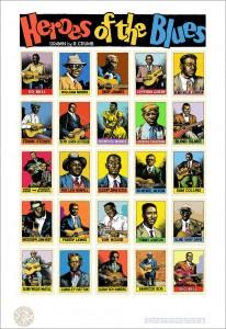 Heroes del Blues dibujados por Crumb
