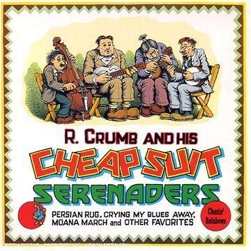 Robert Crumb & The Cheap Suit Serenaders portada Chasin' Rainbows