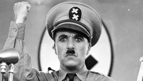 Escena de la película El Gran Dictador