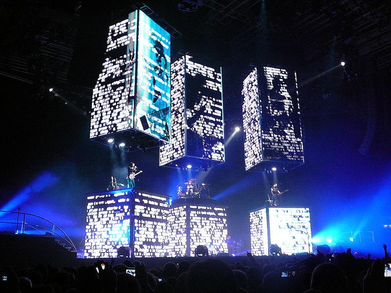 Escenario de la gira correspondiente al álbum The Resistance