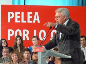 Mitin de Felipe González (www.flickr.com/photos/socialistasvascos)