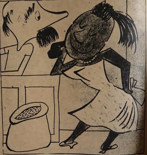 El Gallego y la Mulata. Diario de la Marina. 1957