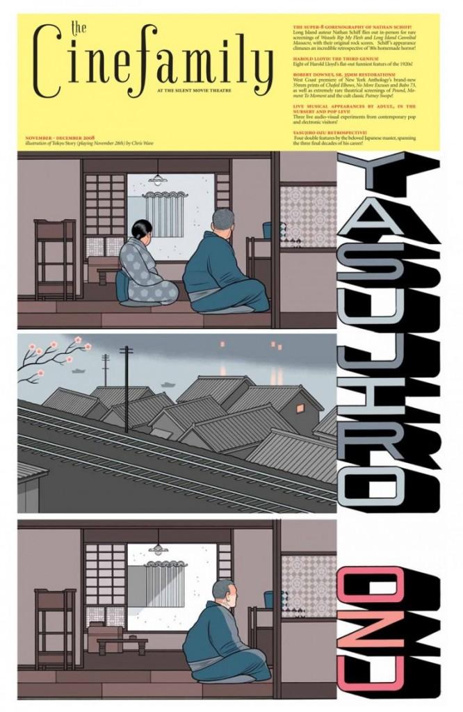 Cuentos de Tokio Chris Ware - OZU