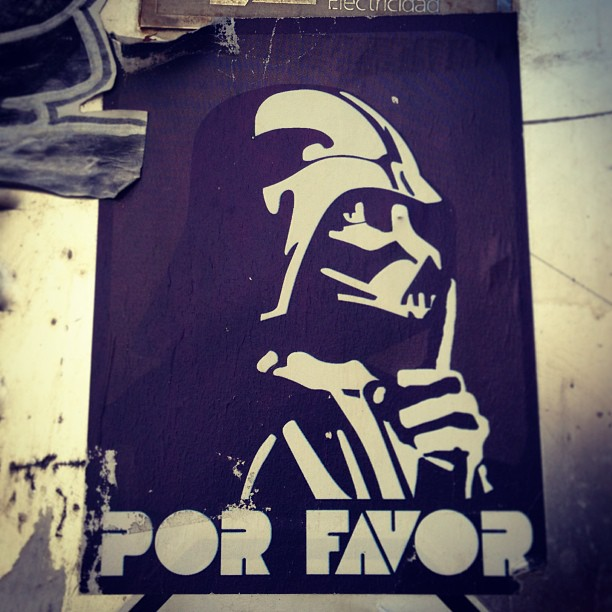 Darth Vader Silencio