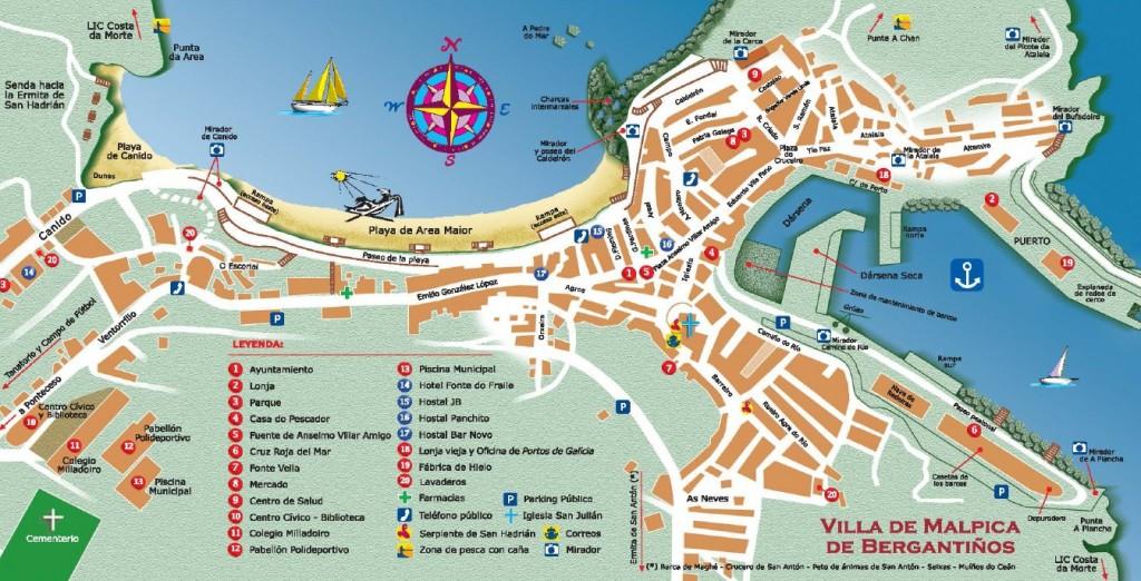 Mapa de Buño